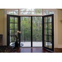 Front entrance aluminium casement double glazed glass for Residential front doors with glass