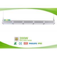 Quality Philips 3030 200w Led Linear High Bay 30 ×  70 / 60 / 90 degree beam for sale