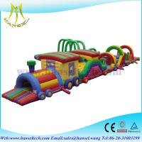 Hansel inflatable bouncer obstacle course playground for kids