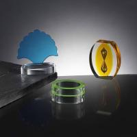 Quality perspex / Acrylic paperweights for sale