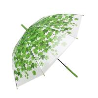 Quality Promotional POE Umbrella Transparent For Women's for sale