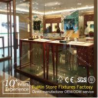 Quality Value fashion shop glass jewelry display cabinet, luxury display cabinet for sale