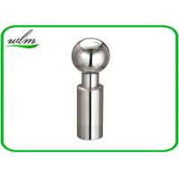 Quality 360 Degree Rotary Sanitary Spray Balls Stainless Steel Butt Weld Connection End for sale