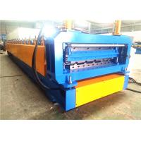 Buy Metal Roofing Roll Forming Machine , Automatic Double Deck Roll Forming Machines at wholesale prices
