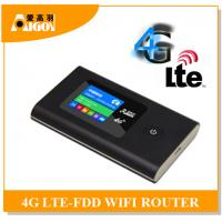 Quality portable lte 4g router with sim card slot for sale