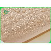 China FDA Approved Plastic Coated Paper With Waterproof 70g 80g 170g Natural Brown on sale