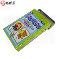 Quality High Quality Christmas Gift Card Tin Box for Credit Card with Hinged Lid,baby learning english and gift card tin box, ch for sale