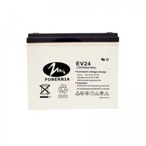 Quality 20HR 70AH Valve Regulated EV Lead Acid Batteries 259*168*210mm Golf Cart for sale