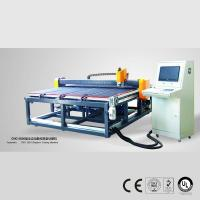 Quality CNC Automatic Shape Glass Cutting Table 2440x1830mm for sale