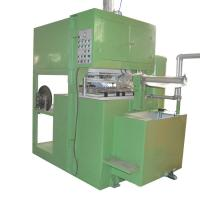 China Custom Color Semi Automatic Egg Tray Machine With PLC Control Easy Operation on sale
