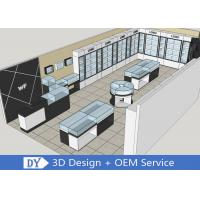 Quality Simple Jewellery Showroom Furniture With Led Lights For Decorated for sale