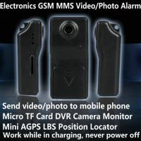 Quality Electronic GSM MMS Alarm Micro TF DVR Camera Locator W/ Send Video Photo to Mobile Phone for sale