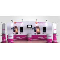 Buy High Definition Printing Tension Fabric Banner , Fabric Exhibition Stand at wholesale prices