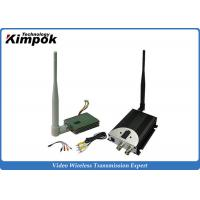 Quality FPV Wireless Video Transmitter 1.2Ghz 8CHs / CCTV Video Transmitter and Receiver with 400mW for sale