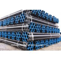 Quality ERW steel pipe with API 5L API 5CT Standard for oil and gas transportation for sale