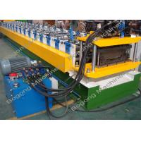China PLC Control Long Span Roofing Sheet Machine , Standing Seam Roof Machine on sale