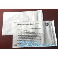 China packing list bubble mailer envelopes,customized packing list packaging mailing bags for packing clothes, bagease, packs on sale
