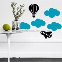 Quality Wall Decal for Children Room Decoration, Removable and Non-toxic, Measures 30 x 60cm for sale