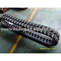 Quality Rubber Crawler,rubber track,harvester for sale