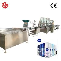 Quality Automatic Body Spray Aerosol Filling Production Line, Aerosol Can Filling System for sale
