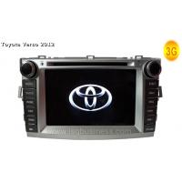 Quality 8 Inch Digital LED Dual Zone Toyota DVD Navigation System For Toyota Verso 2012 ST-8702 for sale