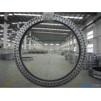 Quality Four Point Single Row Slewing Ring Bearings Contact Ball Slewing Bearing External Gear for sale
