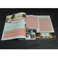 Quality Brochures / Catalogue / Magazine Printing Services With CMYK Printing for sale