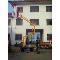 Quality 160 - 500kg Rated Load Towable Articulating Boom Lift With Hydraulic Cylinder for sale