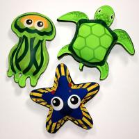 Quality Kids Swimming Pool Fashionable Toys Neoprene Diving Animals for sale