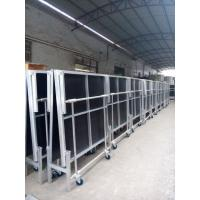Quality 1.22*2.4M High 0.4-0.6 Or 0.6-1.0m Aluminum Folding Stage With Wheels for sale