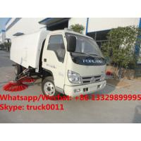 Buy cheap BEST PRICE Customized forland 4*2 RHD road sweeping and cleaning truck for sale, street sweeping vehicle, sweeper truck from wholesalers