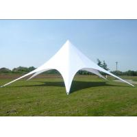 Quality White Star Shaped Tent , Eco - Friendly Large Sun Shade Tent 76 X 2mm for sale
