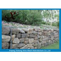 Quality Economical Hexagonal Wire Mesh Gabion Wall Fence OEM / ODM Available for sale