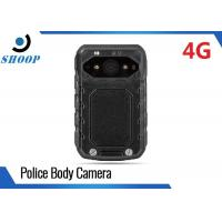 4G WIFI Law Enforcement Body Worn Video Recorder Infrared High Definition