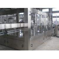 Quality Compact Beer Filling Machine , Automatic Glass Bottling Equipment for sale