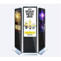 China LCD advertising display stand mall kiosk design 43'' full sexy hd video download floor standing touch screen on sale