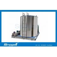 20t/d Sea Water Flake Ice Machine Evaporator For Fishing , SUS316 Stainless Steel for sale