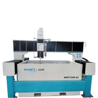 China 1500*800mm bridge type waterjet cutting machine with 420Mpa pump for ss and aluminum cutting on sale