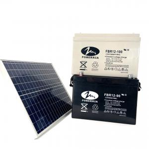 Quality Deep Cycle 12v 200ah Solar Battery F14 Terminal For Solar UPS System for sale