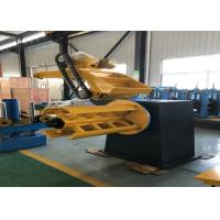 Quality High Accuracy Steel Slitting Machine With PLC Unit / Steel Coil Decoiler for sale