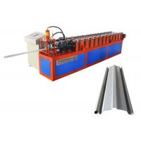 China Speed 12-15 M/Min Rolling Shutter Strip Making Machine With Punching Holes on sale