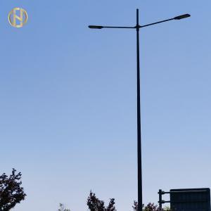 Quality Single Arm / Double Arm 10M Q235 Street Light Pole for sale