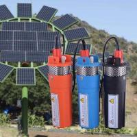 China Whaleflo orange/black/blue High Performance 12 V/24V Dc Solar Submersible Water Pump Price For Deep Well In Pakistan on sale