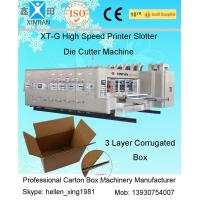 15 - 30kw Carton Box Printing Slotting Machine / Flexo Printer Slotter Die Cutting Machine