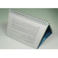 Quality Pantone Color Photo Desktop Calendar Printing Services / custom printed file folders for sale