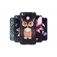 Quality Soft TPU Bumper Protect Camera Anti - Scratch Phone Case Owl Embossment for sale