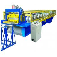 Quality Auto Operation Standing Seam Metal Roof Machine 12-18m/Min CE SGS Approved for sale