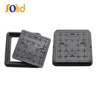 China En124 C250 Plastic Sewer Manhole Cover with Lock (C/O600) on sale