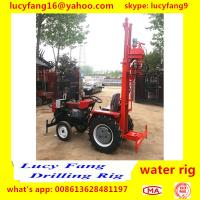China Made Cheapest Tractor Mounted Water Well Drilling Rig For 50-70 Meters Depth for sale