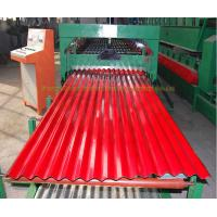 galvanized color coated zinc coated shed roof wall shutter doors corrugated metal roofing sheet